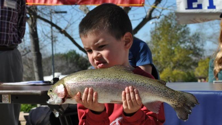 20th annual free youth fishing derby this weekend at poway for Lake poway fishing