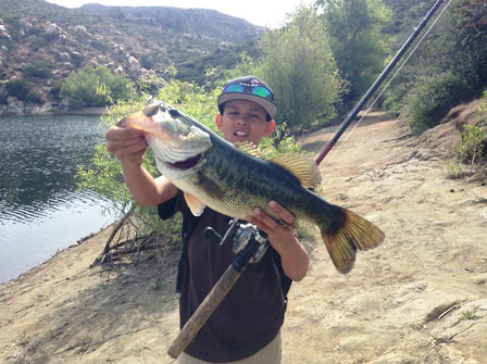 Lake poway fishing report 4 19 15 for Fishing license san diego