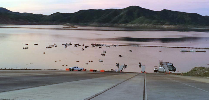 Diamond Valley Lake scheduled to reopen for boat launching