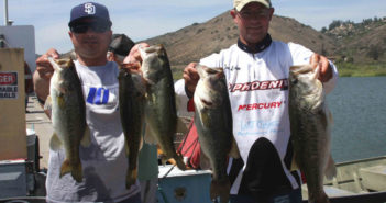 Marco Fenelli and Tom Leedom with their tournament winning Hodges limit