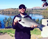 Record catch hauled in at Lake Jennings