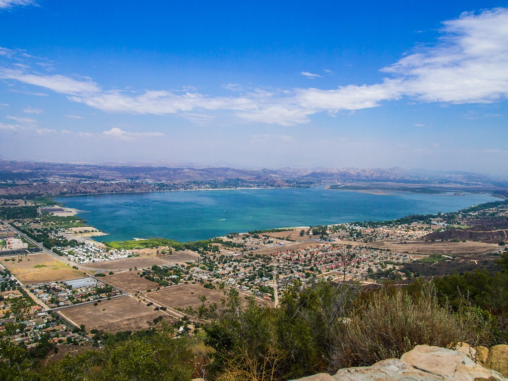 Lake Elsinore or LE is a city in western Riverside County, California. The population was 51, at the census. It is the home of the Lake Elsinore Storm baseball club of the California League which plays at the Lake Elsinore Diamond.