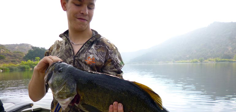 Lake wohlford fish report 8 12 16 for Lake wohlford fishing report