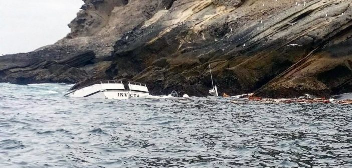 Sportfishing boat sinks after striking Coronado Islands with 26 onboard