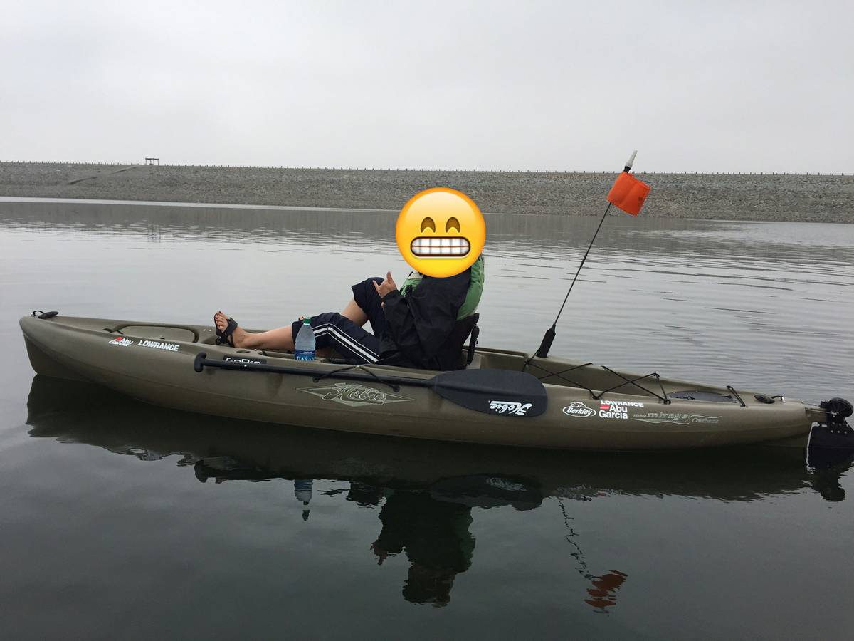 For sale 2013 hobie outback fishing kayak 1300 sold for Kayak fishing forum