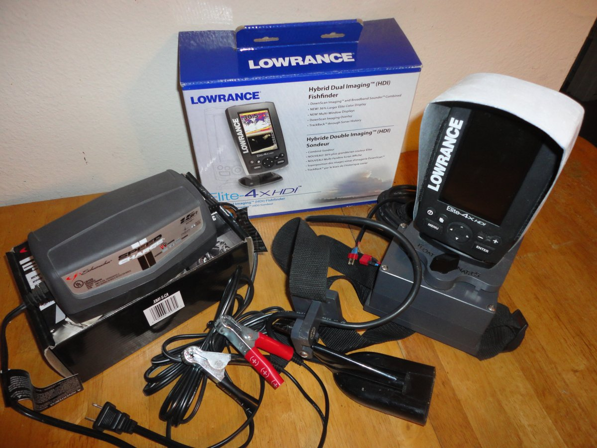 For Sale - Lowrance Elite-4xHDI | San Diego Fishing Forums