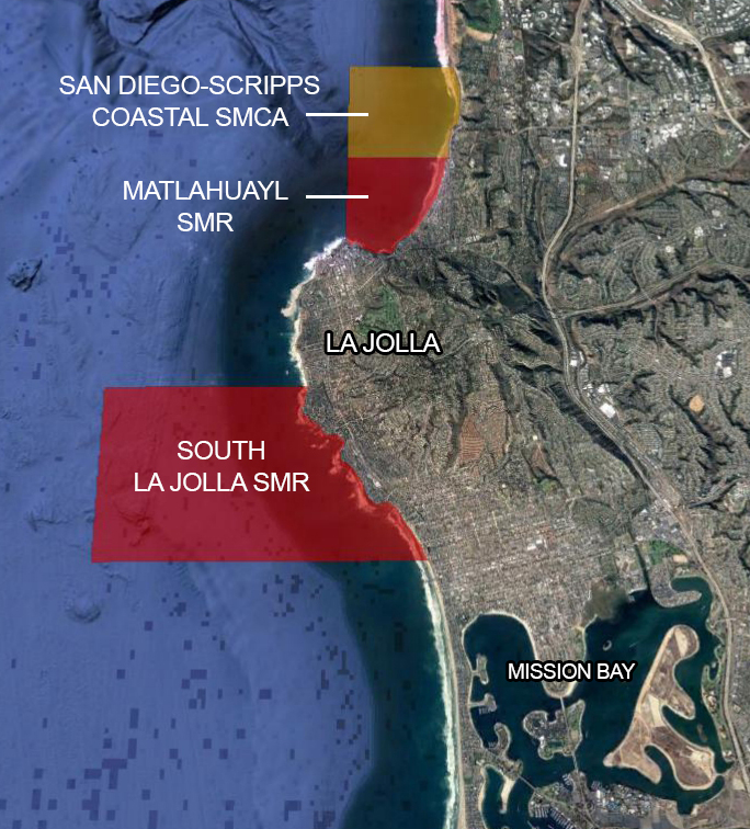 La Jolla Fishing Map Where To Legally Fish From The Shore San