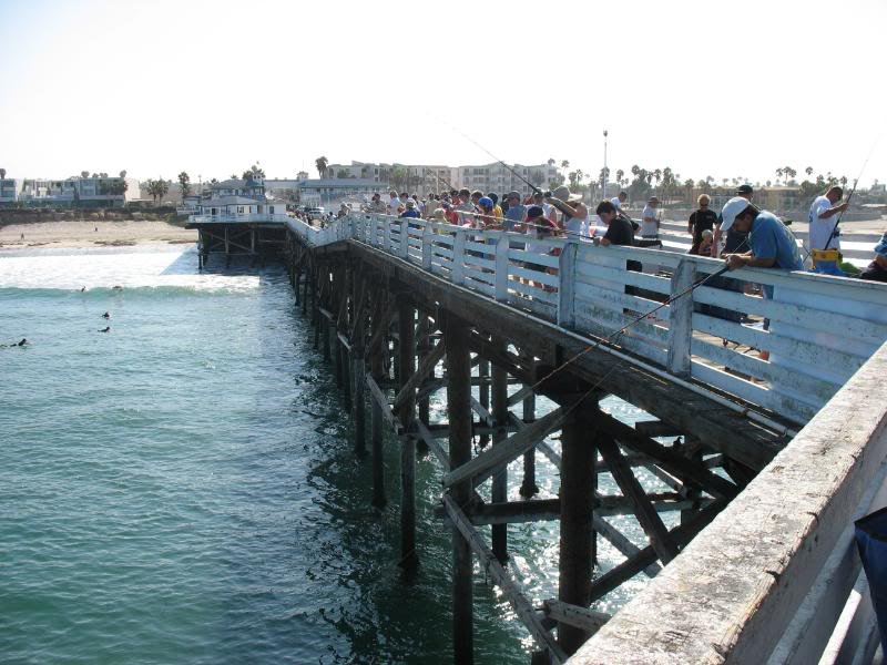 Crystal pier kids fishing derby 08 16 08 results san for Crystal pier fishing
