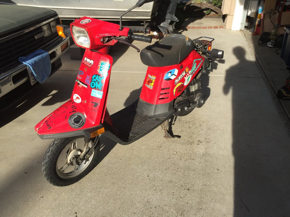 For Sale 49cc Yamaha Razz Scooter San Diego Fishing Forums