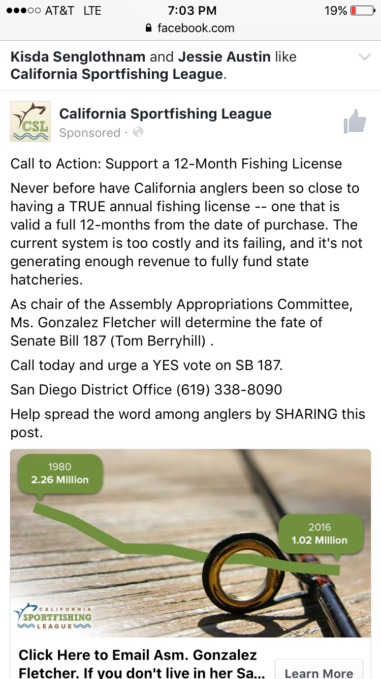 California fishing license san diego fishing forums for Fishing license san diego