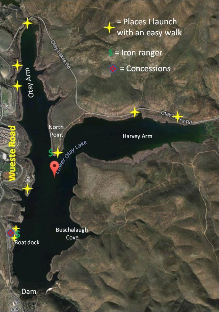 Float tubing lower otay san diego fishing forums for Otay lakes fishing