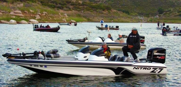 2014 bass tournament schedule for Otay lakes fishing