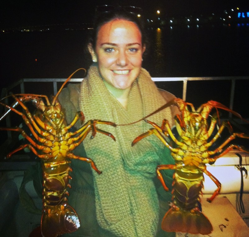 Lobsters on the crawl again in san diego bay for Lobster fishing san diego
