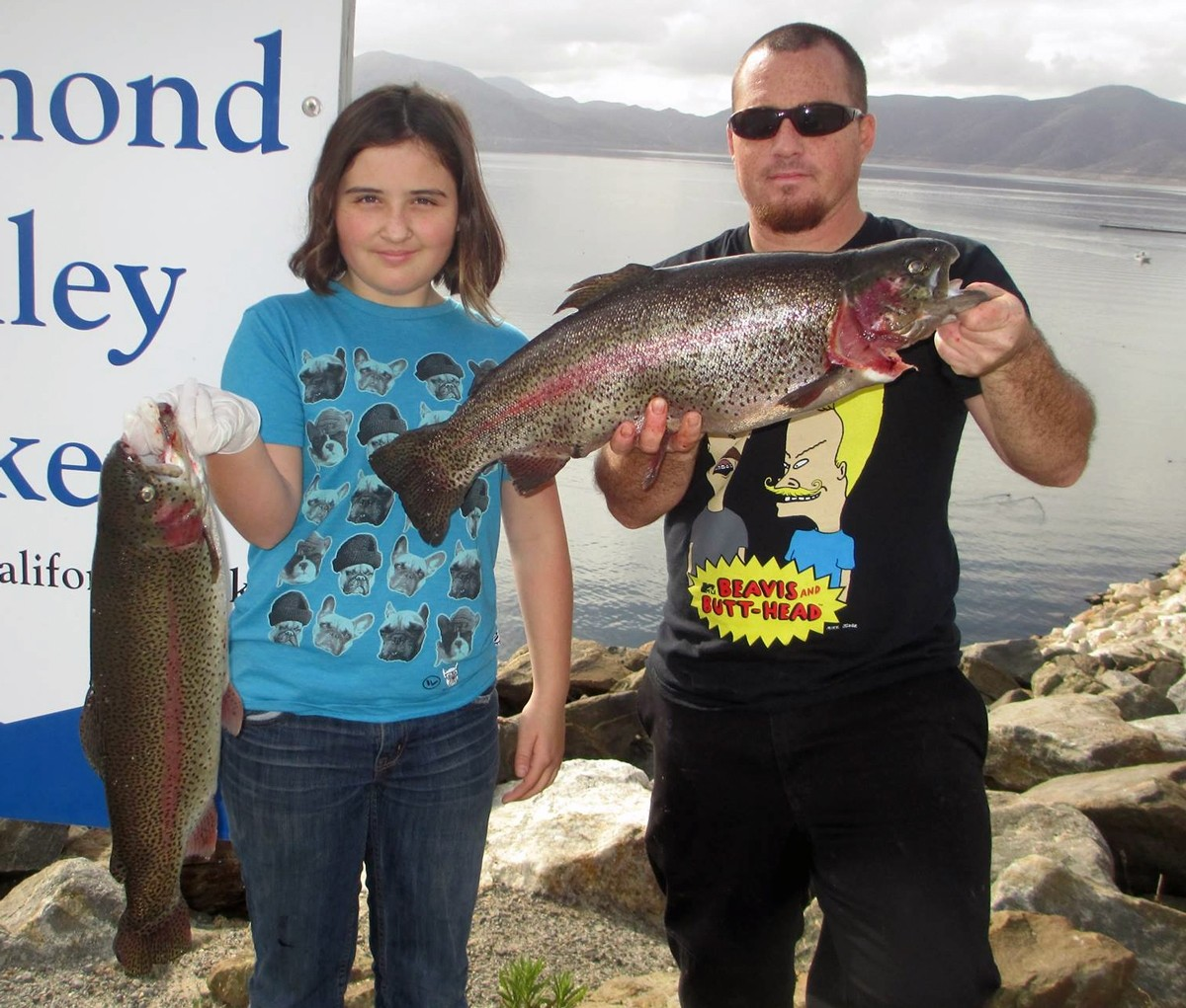 Trout to 6 pounds stripers to 10 pounds biting at diamond for Diamond valley lake fishing report