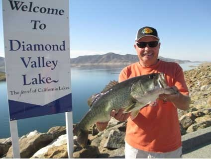 Diamond valley lake fish report 10 21 14 for Diamond valley lake fishing report