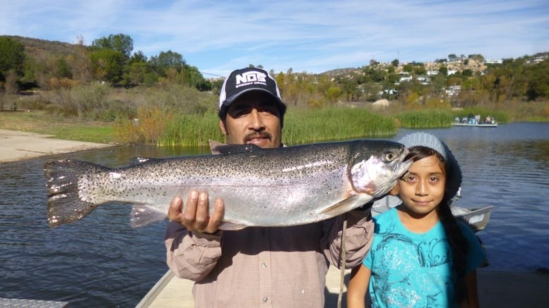 Lake wohlford fish report 12 20 14 for Lake wohlford fishing report