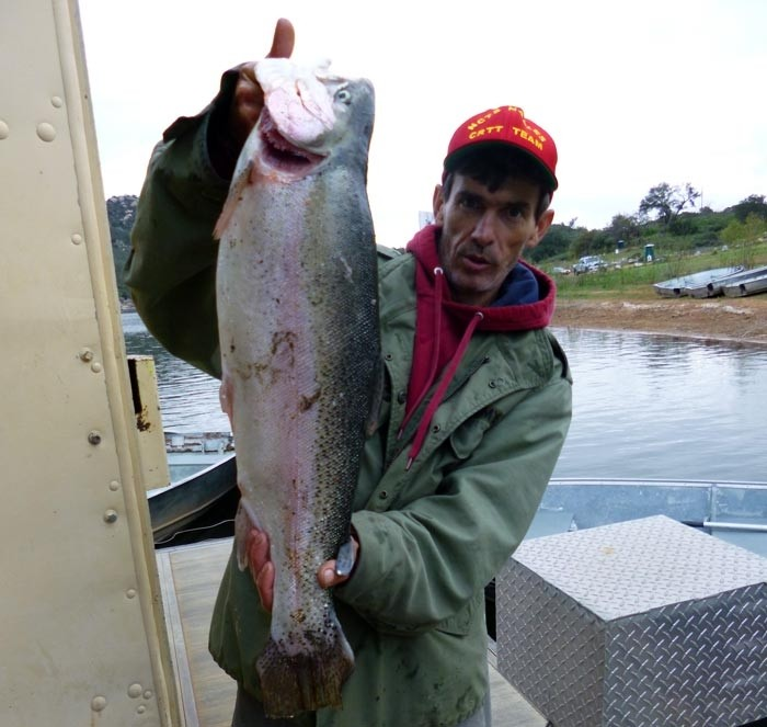 Lake wohlford fish report 3 7 15 for Seven b s fishing report