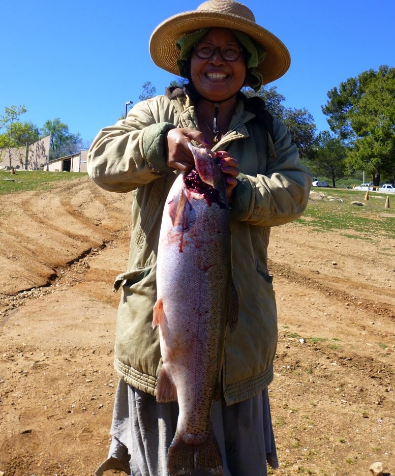 Lake wohlford fish report 2 28 15 for Lake wohlford fishing report