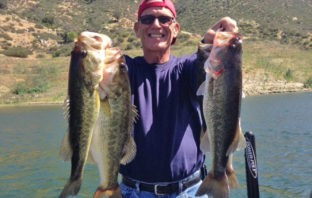 Dale Garon with some bass from El Capitan