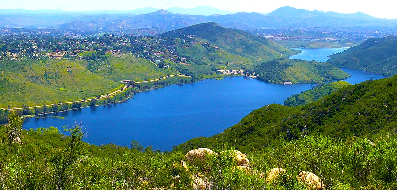 Lake hodges for Freshwater fishing san diego