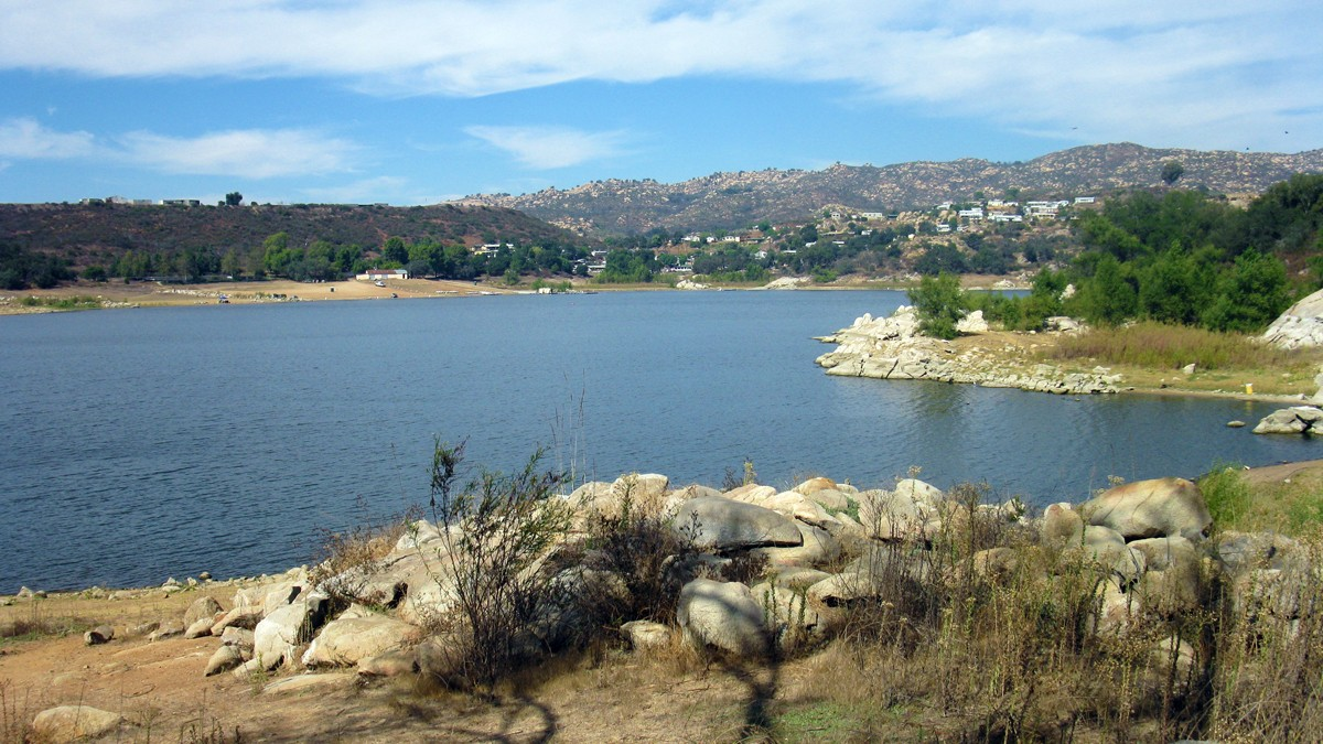 Lake wohlford for Freshwater fishing san diego