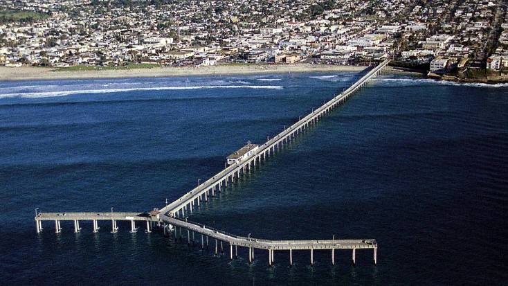 Image result for ocean beach pier san diego california