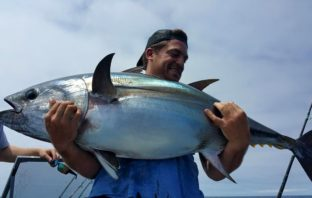 Paul Howse 80 lb bluefin tuna
