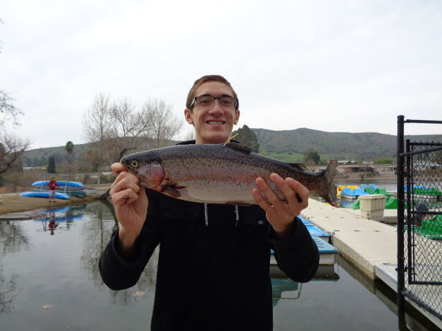 Santee lakes fish report 1 25 16 for One day fishing license ca