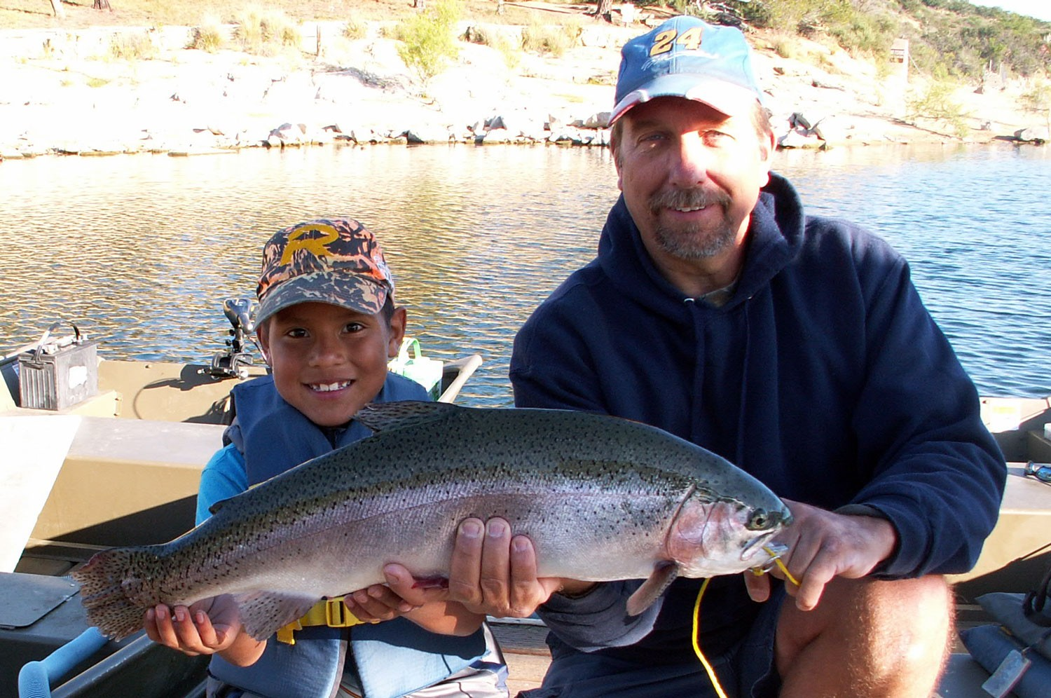 Lake poway fish report 3 27 16 for Lake fishing report