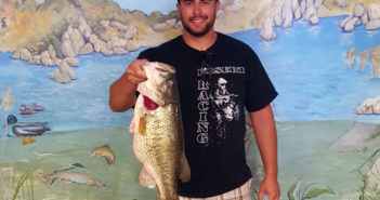 10 pound bass Lake Morena