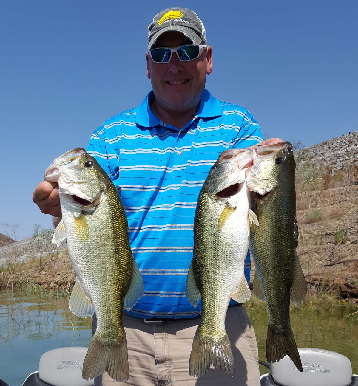 Diamond valley lake fish report 7 31 16 for Diamond valley lake fishing report