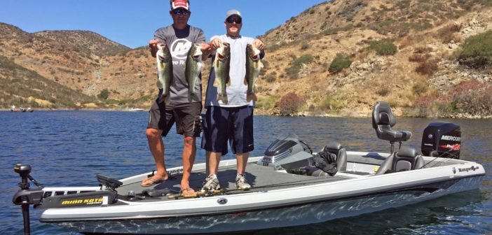 San Vicente Reservoir Fish Report – Opening Week