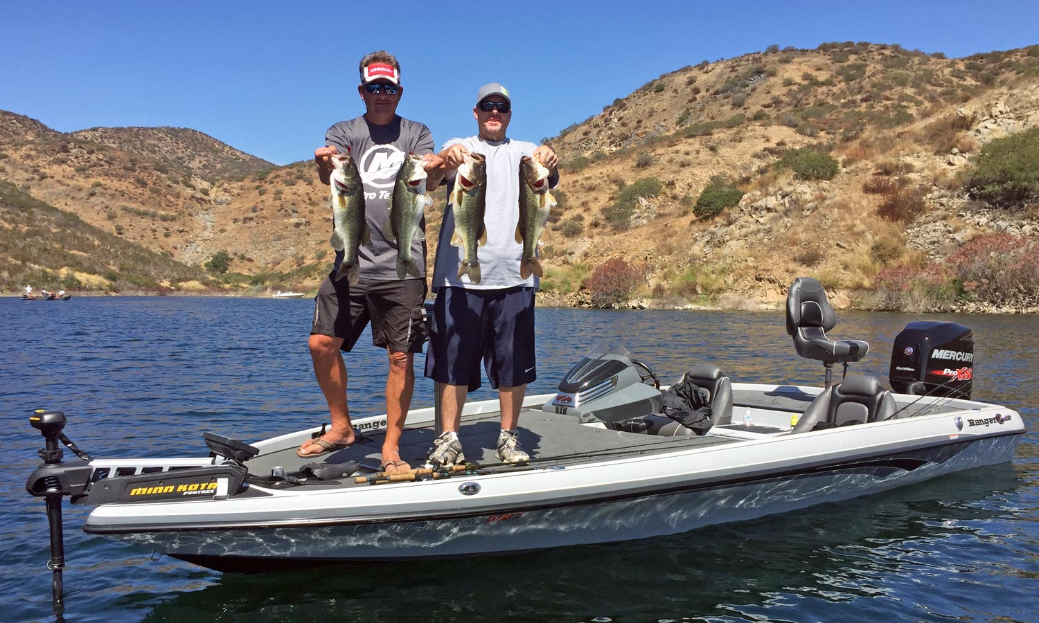 San vicente reservoir fish report opening week for Surf fishing san diego