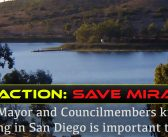Help save the fishery at Miramar Reservoir