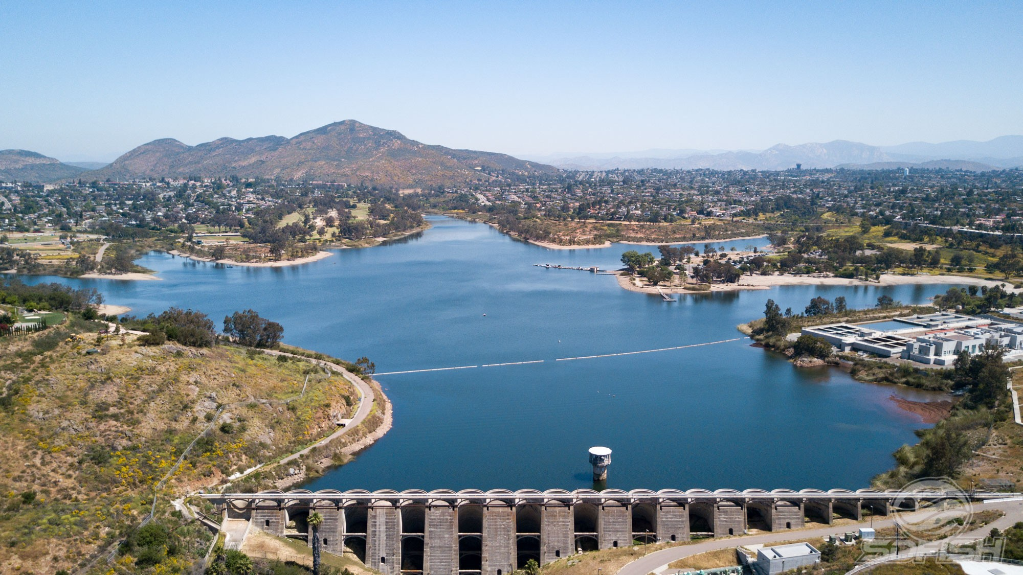 Quiz can you recognize all of these san diego area lakes for Lake miramar fishing