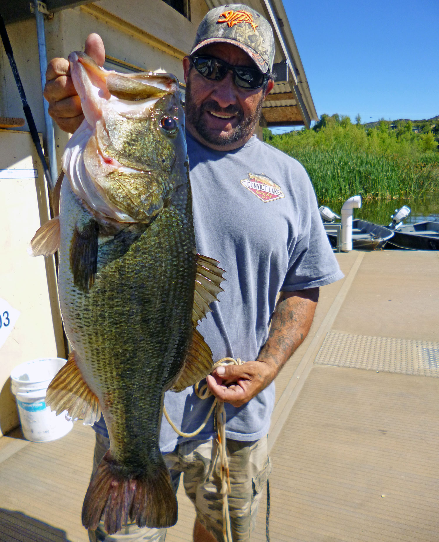 Lake wohlford fish report 5 26 17 for Lake wohlford fishing report