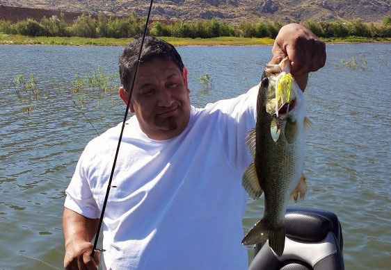 lake perris fish report from guide art hill