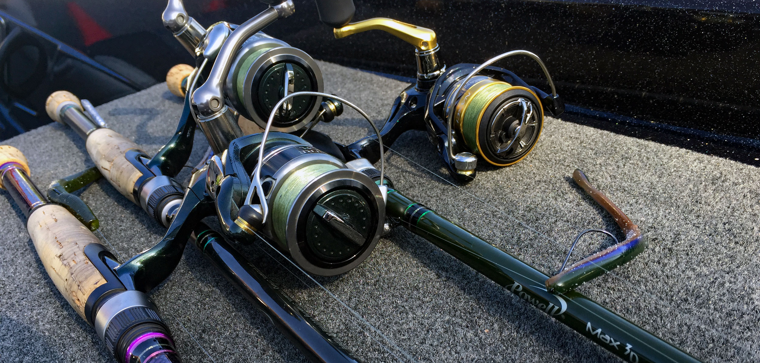 Bass fishing basics for Bass fishing rods and reels