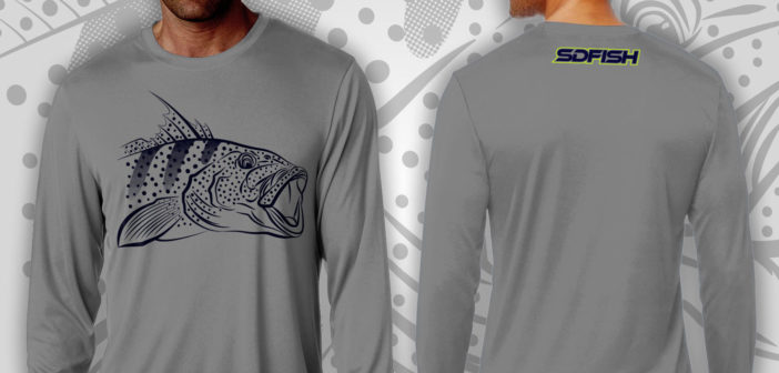 Spotted Bay Bass SDFISH Shirts Available For Order