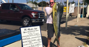 Giant local dorado caught by Captain Clowers