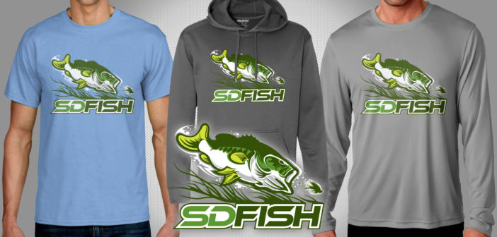 SDFISH Bass Shirts – Available to Order