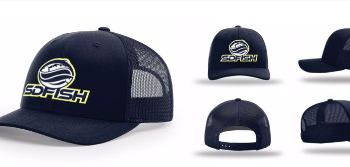 SDFISH hats now available to order