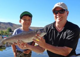 Santee Lakes kicks off trout season in San Diego this weekend