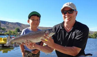 Santee Lakes Rainbow Trout